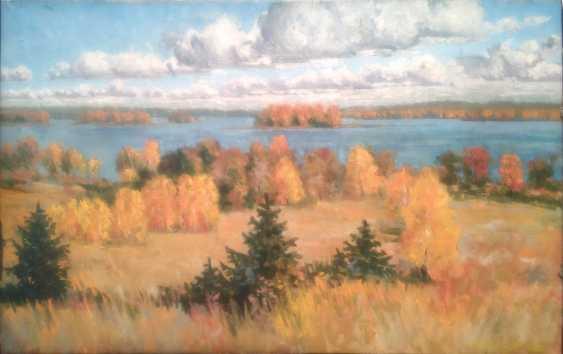 Alexander Bezrodnykh. L'automne.Le lac.Les nuages - photo 1
