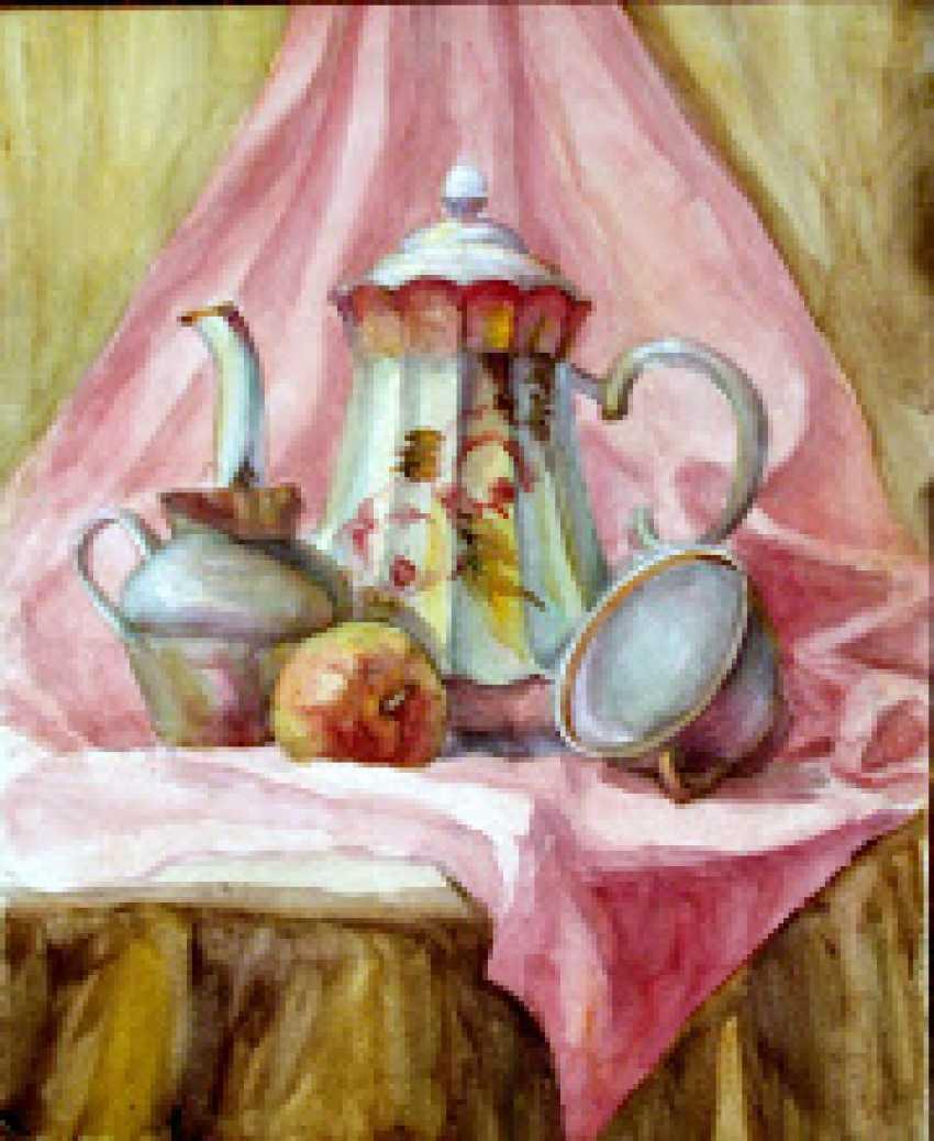 "Anelia Kuzmenko. ""Pink still life"" From the series ""Mood"". - photo 1"