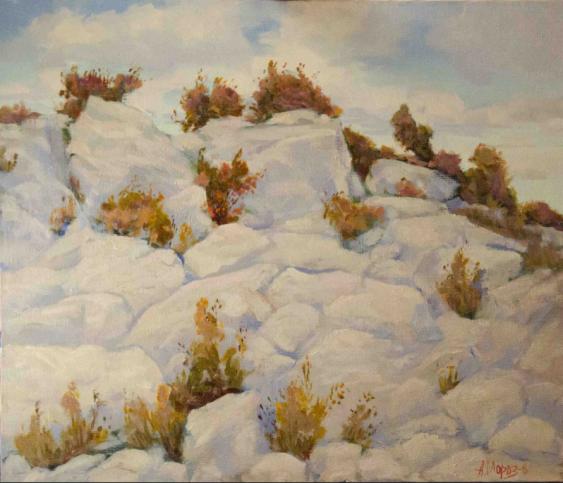 Anatoly Moroz. Teple kaminnja. Warm Stein - Foto 1