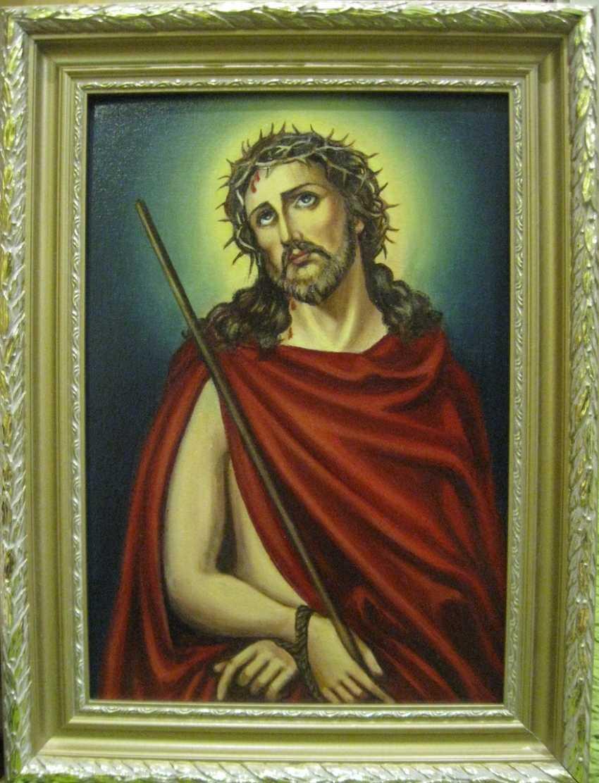 Yadviga Senko. Jesus in a crown of thorns - photo 1