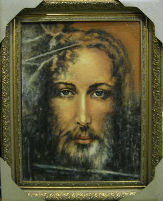 Yadviga Senko. Jesus Christ (the face with the Turin shroud) - photo 1