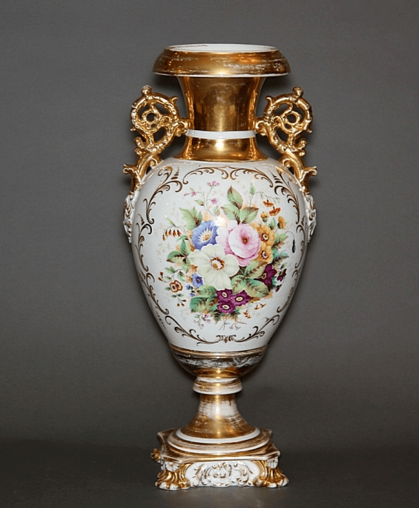 Vase , factory Kornilov brothers ' porcelain - photo 1
