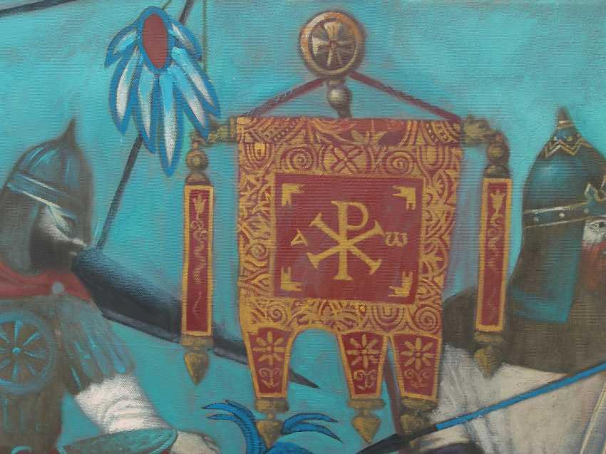 """Roman Musiienko. """"The battle with the Byzantines."""" - photo 2"""