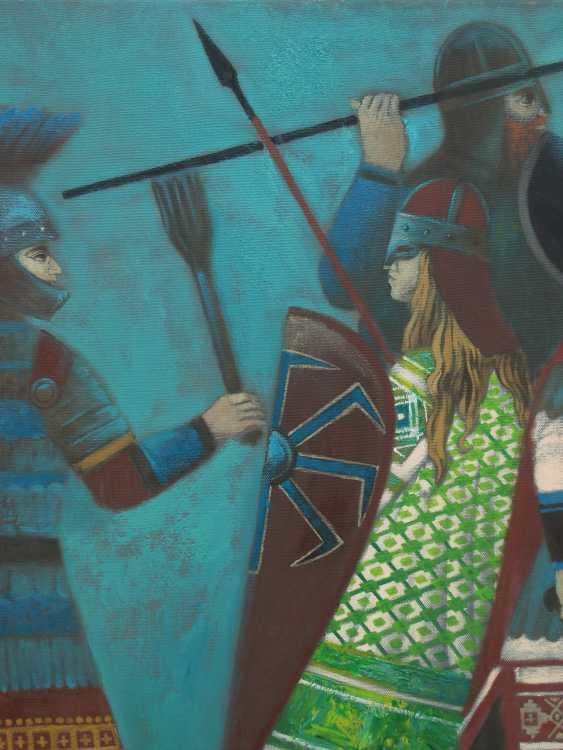 """Roman Musiienko. """"The battle with the Byzantines."""" - photo 3"""