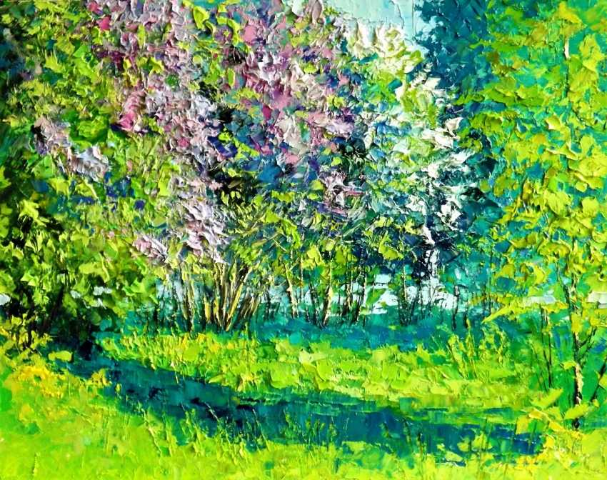 Sergey Efremov. In the Garden lilac - photo 1