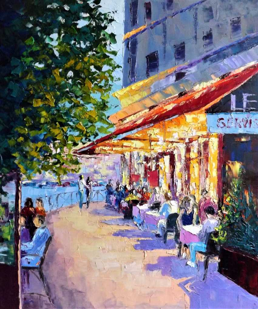 Sergey Efremov. A warm evening on the Boulevard. - photo 1