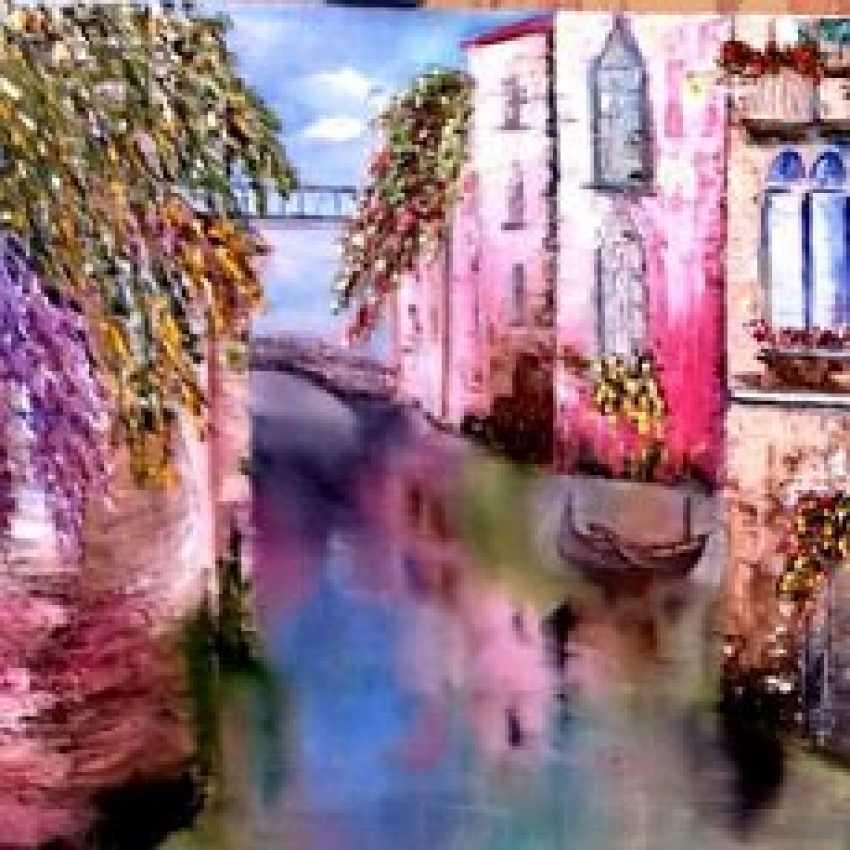 Larisa Kataeva. Ruhiges Venedig - Foto 1