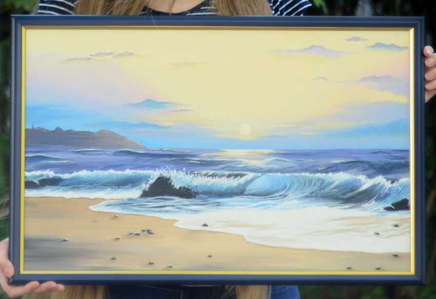 Kateryna Pylypenko. Sea wave - photo 1