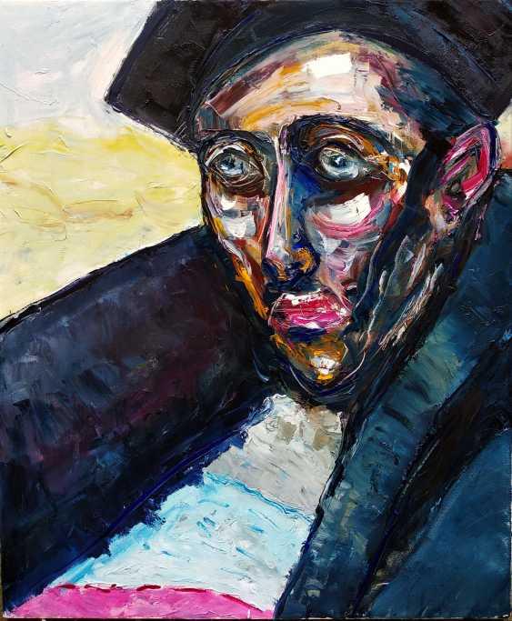 Ashot Aleksanian. Abstract - expressive spot on the basis of a portrait - photo 1