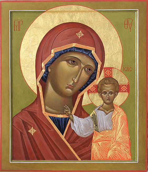 Aleksey Sivolozhskiy. Icon of the Kazanskaya Mother of God (Theotokos of Kazan) - photo 1