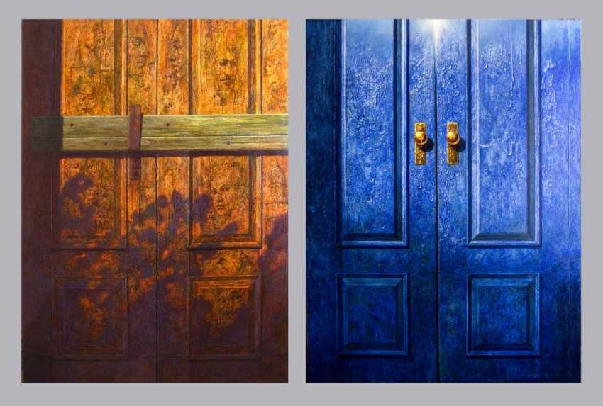 Igor Leontjev. Diptych. Doors to the past and the future - photo 1