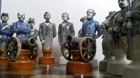 "Denis Korzun. Chess set ""Civil war"" - photo 4"