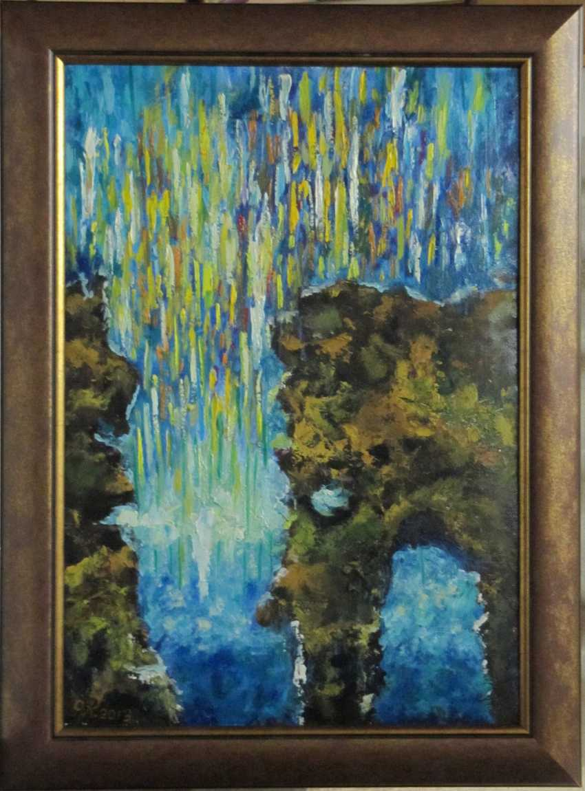 VOLHA RAMEIKA. Picture 1409. Bright gorge. - photo 1
