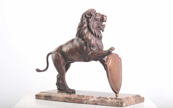 Viachaslau Lyshchyk. Sculpture Lion - photo 2