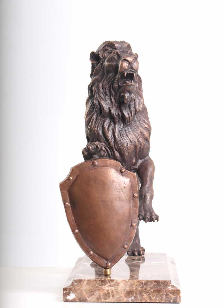 Viachaslau Lyshchyk. Sculpture Lion - photo 3