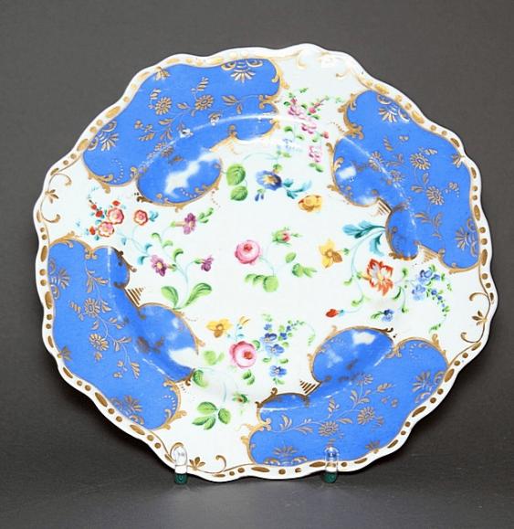 Plate, the plant A. Popov, porcelain, - photo 1