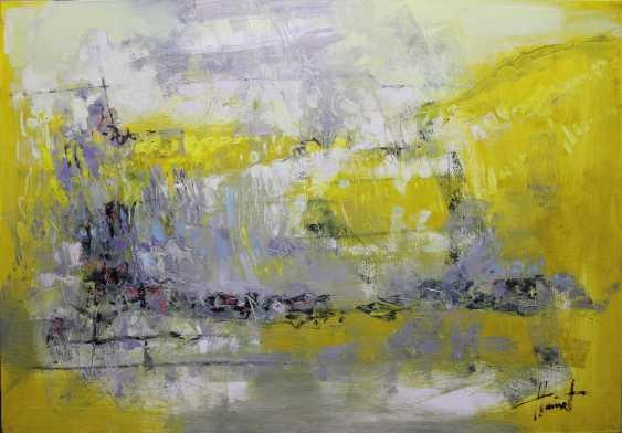 Henadzy Havartsou. Yellow Nocturne - photo 1