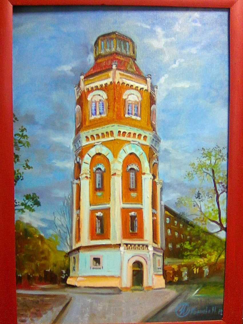 Marina Ivanova. water tower - photo 1
