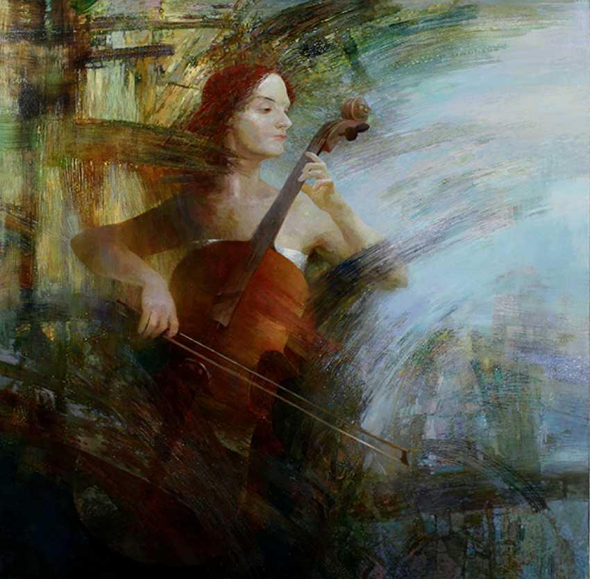 Vladimir Shevardin. A cellist. - photo 1