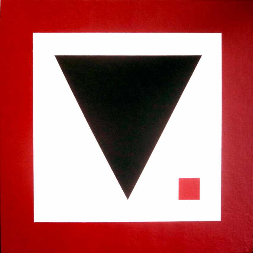 "Sergey Babkov. ""Black triangle n 13"" - photo 1"