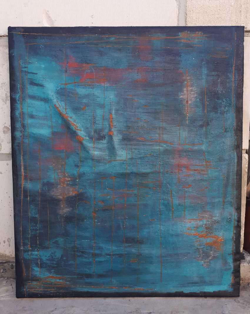 Elena Tachkina. Ancient blue wall - photo 1
