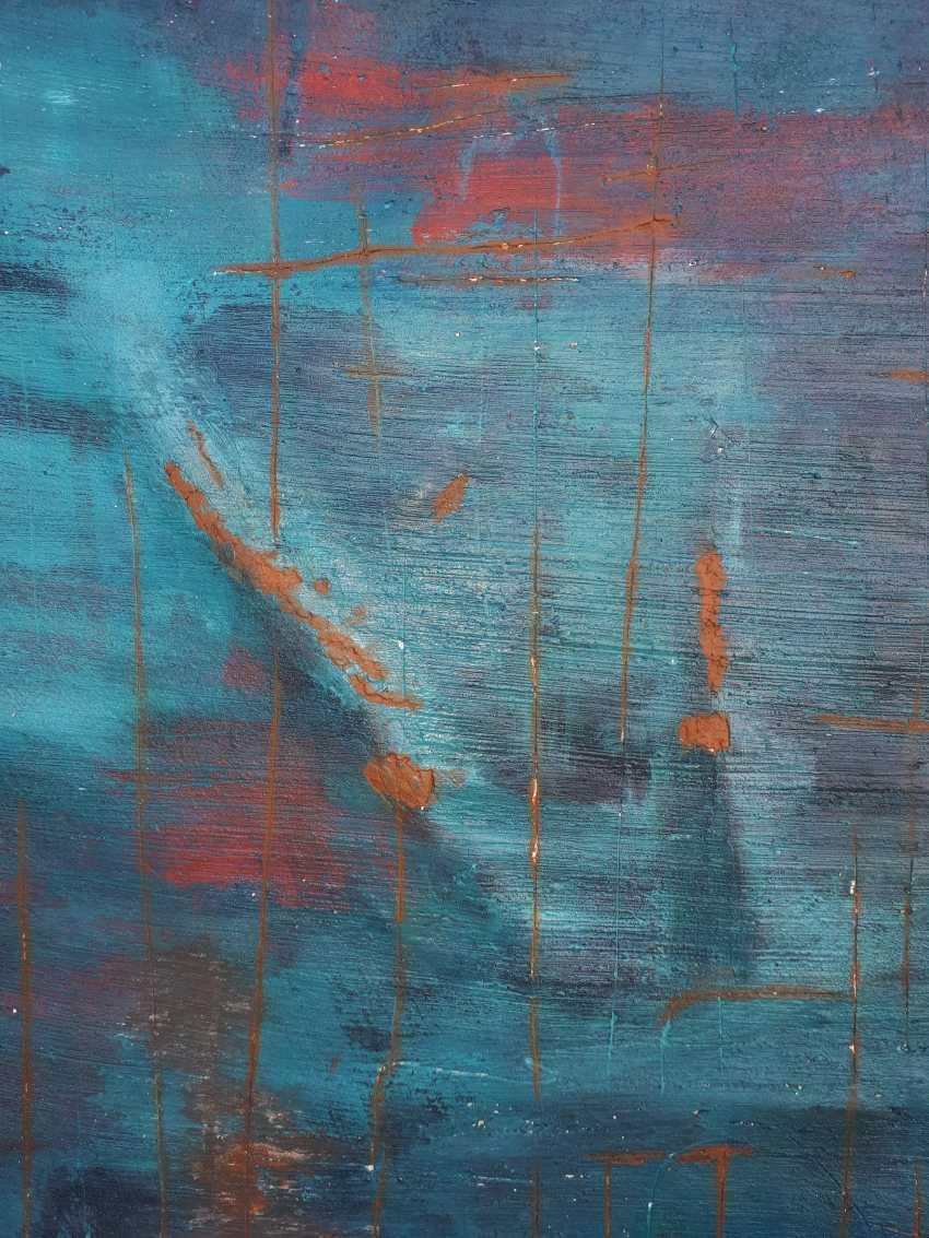 Elena Tachkina. Ancient blue wall - photo 3