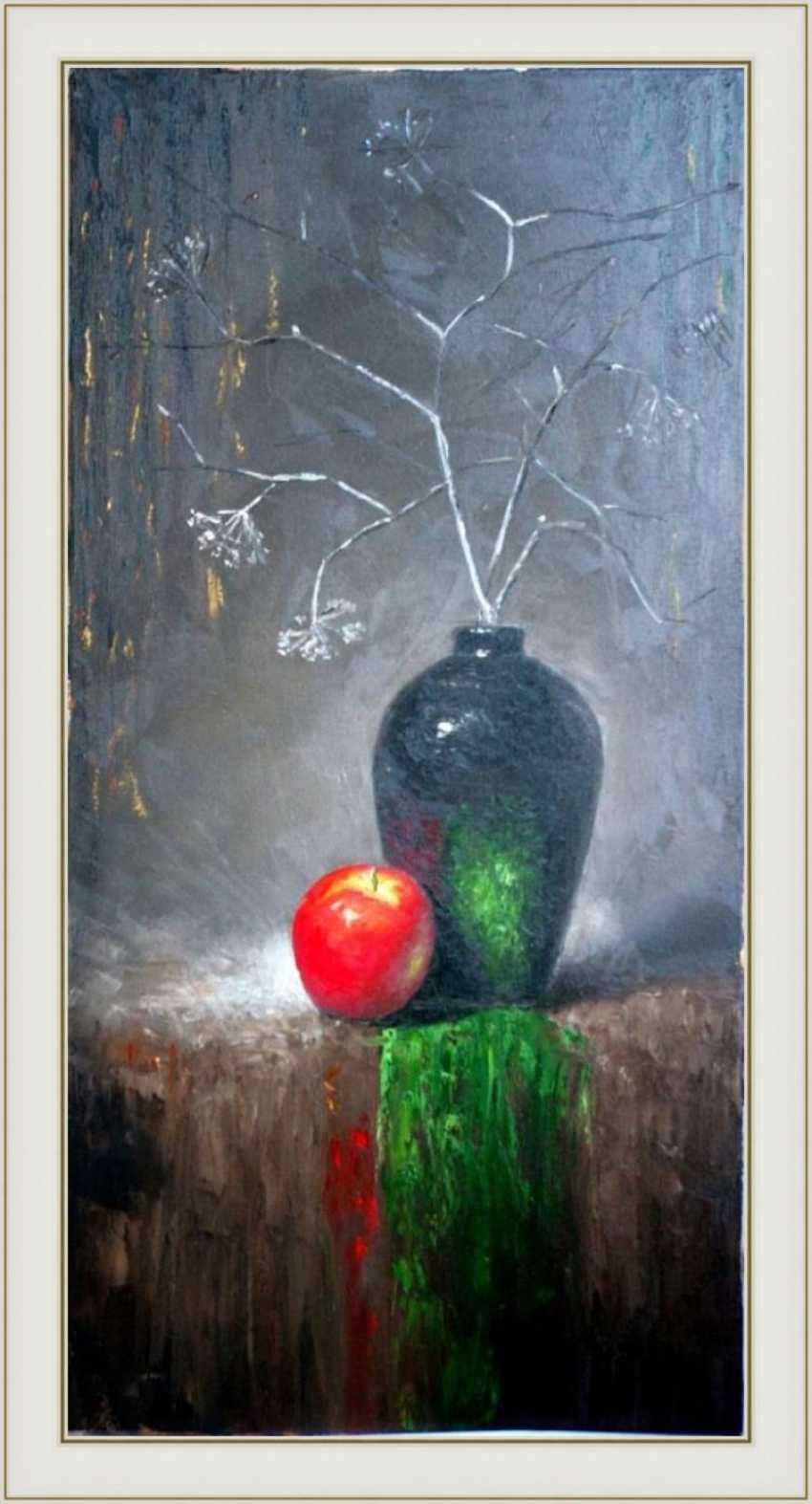 Nataliia Bahatska. Still life with the Apple - photo 5