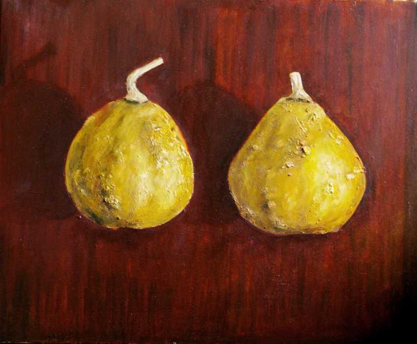 Nataliia Bahatska. Two Sunny Pumpkins - photo 1