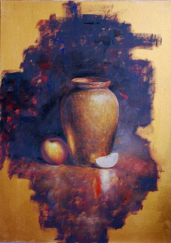 Nataliia Bahatska. Still Life with a Vase and an Apple - photo 1