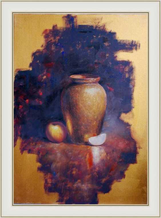 Nataliia Bahatska. Still Life with a Vase and an Apple - photo 3