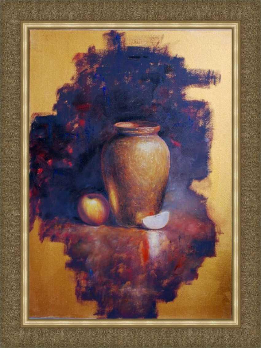 Nataliia Bahatska. Still Life with a Vase and an Apple - photo 4