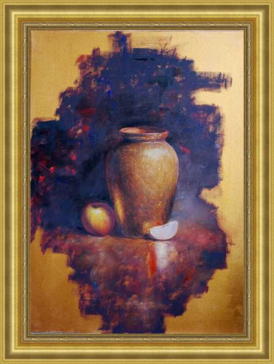Nataliia Bahatska. Still Life with a Vase and an Apple - photo 5
