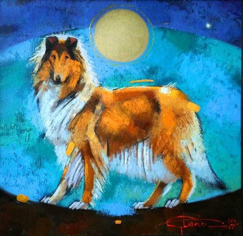 Elena Sachenko. Solar-Hund - Foto 1