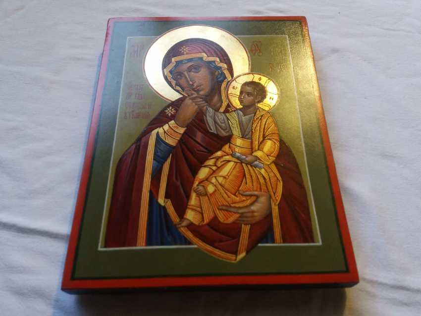 "Slava Nikityuk. The Icon Of The Mother Of God ""Joy"" (""Consolation"") Of Vatopedi. - photo 3"