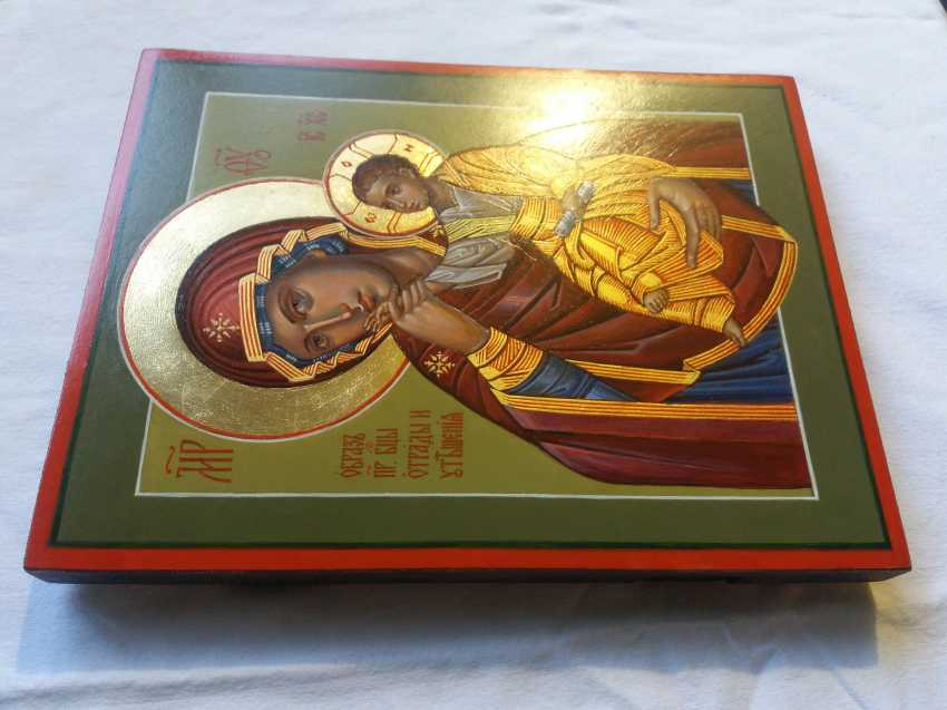 "Slava Nikityuk. The Icon Of The Mother Of God ""Joy"" (""Consolation"") Of Vatopedi. - photo 4"