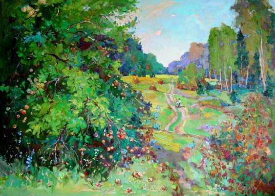 Andrey Mishagin. Forest Apple tree - photo 1