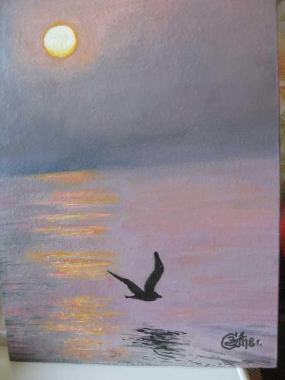 "Sergei Zabelin. The painting ""the sea gull"" - photo 1"