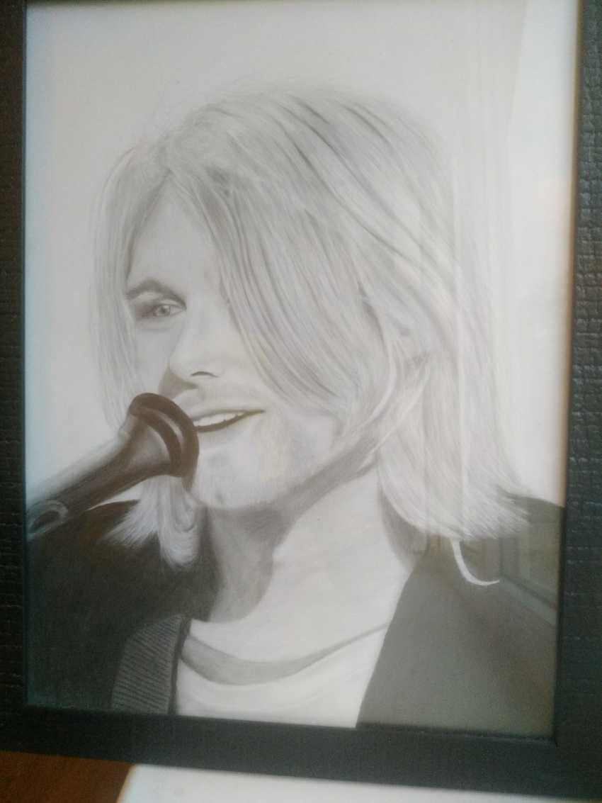 Vladislava Kosareva. Kurt Cobain - photo 1