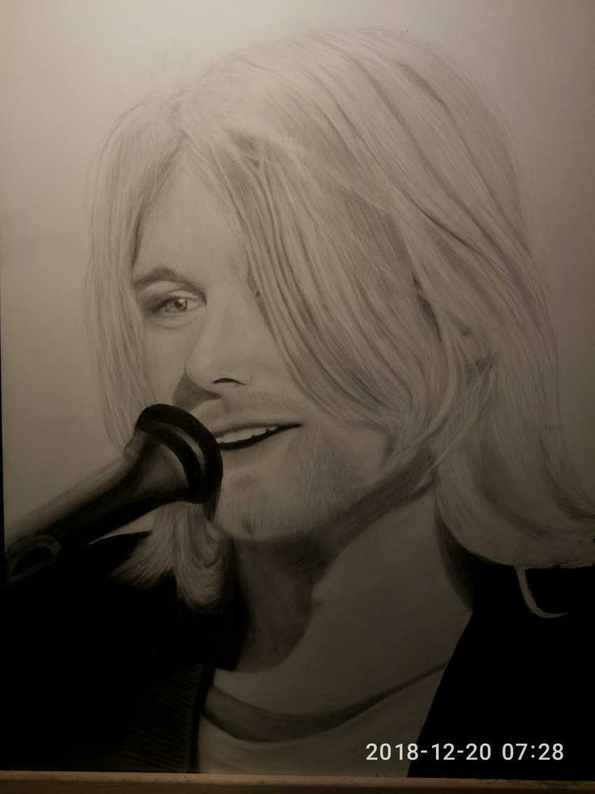 Vladislava Kosareva. Kurt Cobain - photo 2