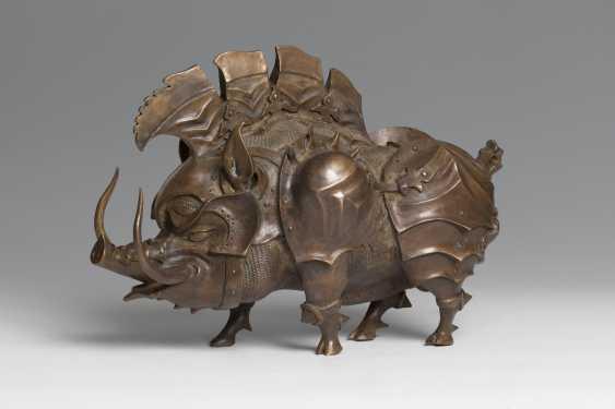 Olga Sagakon. Wildschwein - römische Krieger - Foto 2