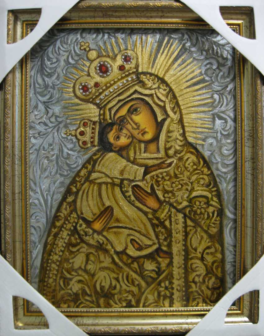 Yadviga Senko. Icon Of The Mother Of The Hudahaj - photo 1