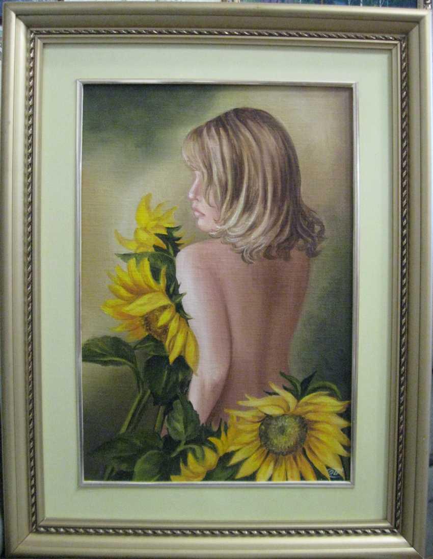 Yadviga Senko. Stranger.Sunflowers - photo 1