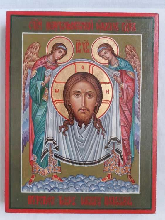 "Slava Nikityuk. Icon Of Jesus Christ ""Vernicle"". - photo 1"