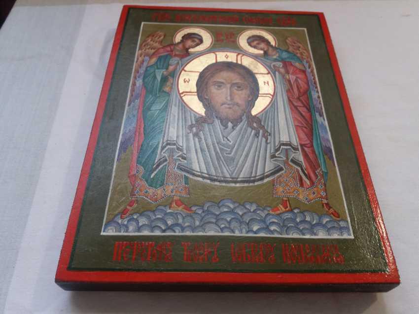 "Slava Nikityuk. Icon Of Jesus Christ ""Vernicle"". - photo 4"