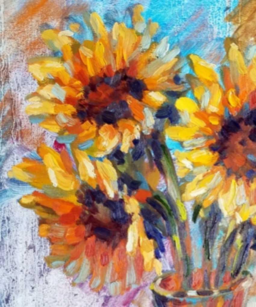 Alex Klas. Sunflowers by the window - photo 2