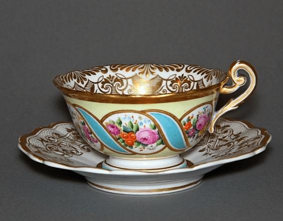 A couple of tea.Imperial porcelain factory, - photo 1