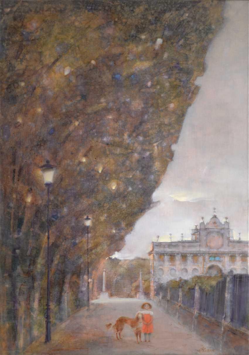 Victoria Alferonok. A walk in the Park Borghese - photo 1
