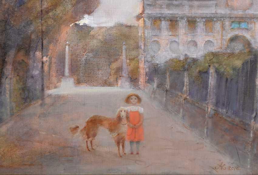 Victoria Alferonok. A walk in the Park Borghese - photo 2