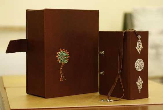 Gohar Tumasyan. A reproduction of the Book of lamentations of Grigor Narekatsi - photo 2