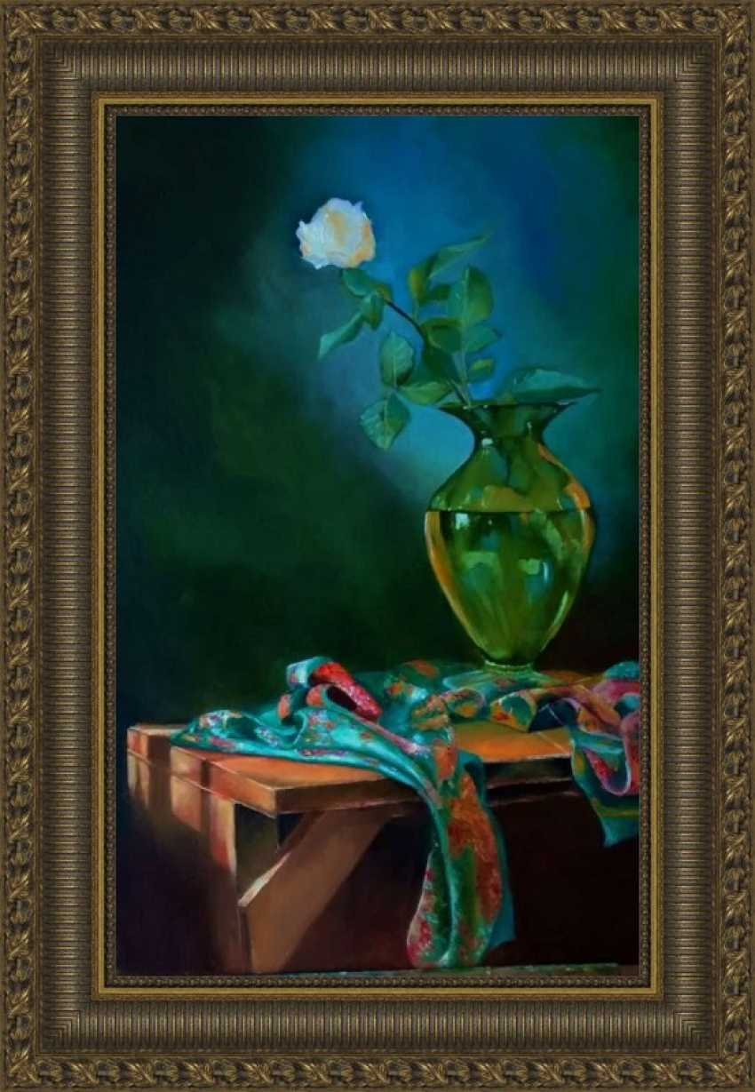 Larisa Bjlibot. Still life in emerald - photo 1